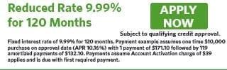 2739 - Reduced Rate 9.99% for 120 Months